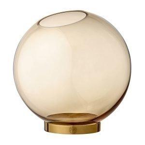 Aytm Globe Maljakko Iso Meripihka Kulta