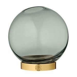 Aytm Globe Maljakko Keskikokoinen Vihreä Kulta