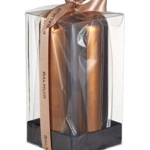 Balmuir Metallic Pillar Pöytäkynttilä 8 X 15 cm