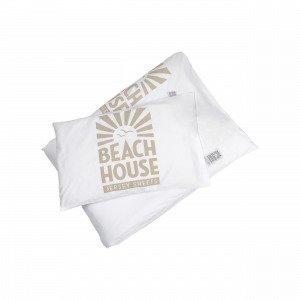 Beach House Logo Baby Bedset Pussilakanasetti Valkoinen 100x130 Cm