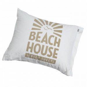 Beach House Logo Beach Tyynyliina 50x60 Cm