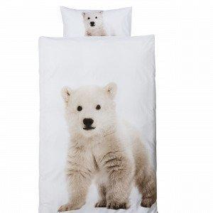 Bear Pussilakanasetti Valkoinen