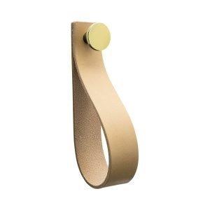 Beslag Design Loop Strap Vedin L Luonnollinen / Messinki