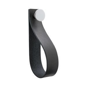 Beslag Design Loop Strap Vedin L Musta / Kromi