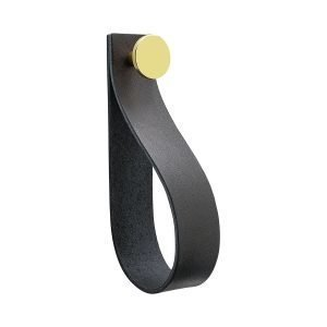 Beslag Design Loop Strap Vedin L Musta / Messinki
