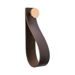 Beslag Design Loop Strap Vedin L Ruskea / Kupari