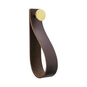 Beslag Design Loop Strap Vedin L Ruskea / Messinki