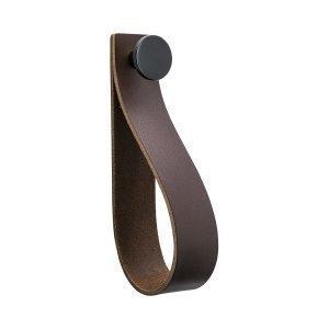 Beslag Design Loop Strap Vedin L Ruskea / Musta