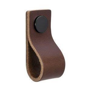 Beslag Design Loop Vedin L Ruskea / Musta