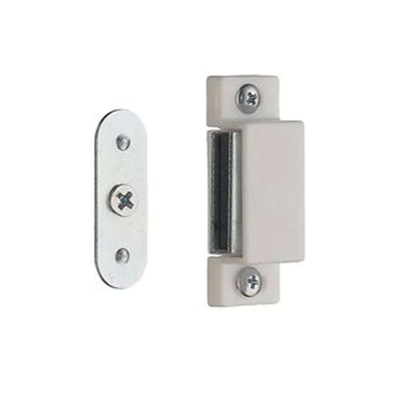 Beslagsboden Magneettilukko 2 kpl B301 Valkoinen