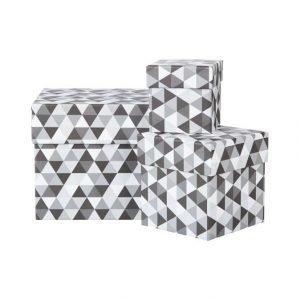 Bigso Box Leah Säilytyslaatikko 3 Pack