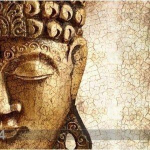 Bilder-Welten Kuvatapetti Ancient Buddha 300x280 Cm