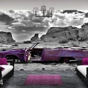 Bilder-Welten Kuvatapetti Cadillac In Pink 400x280cm
