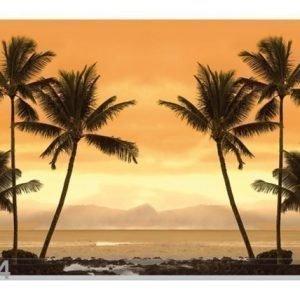 Bilder-Welten Kuvatapetti Caribbean Beach 400x280 Cm