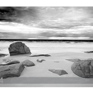 Bilder-Welten Kuvatapetti Rocky Beach 400x280cm