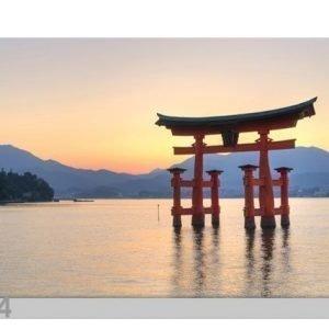 Bilder-Welten Kuvatapetti Torii Itsukushima 400x280cm