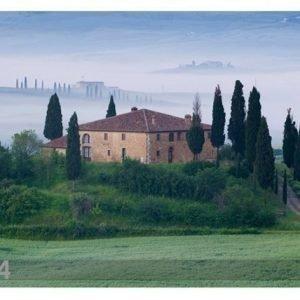 Bilder-Welten Kuvatapetti Tuscany Sunrise 400x280 Cm