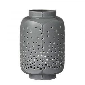 Bloomingville Ceramic Kynttilälyhty Harmaa 16