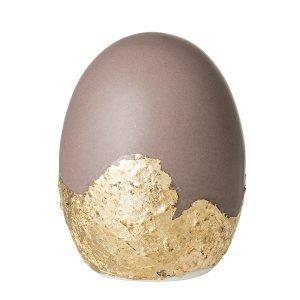 Bloomingville Easter Koriste Muna Kulta / Brun