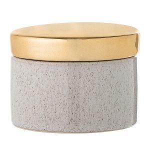 Bloomingville Golden Stone Purkki Kannella Luonnollinen / Kulta