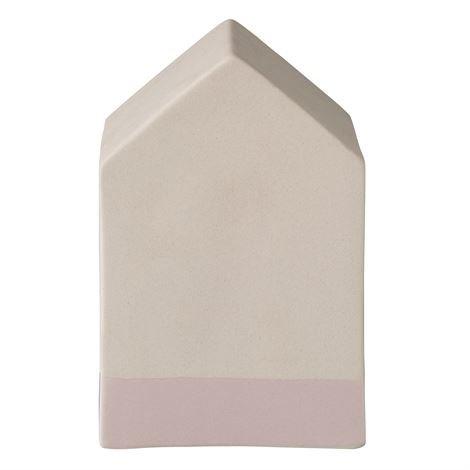 Bloomingville Keramiikkatalo Vaaleanpunainen 12 cm