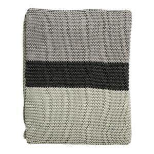 Bloomingville Knitted Huopa Minttu / Harmaa