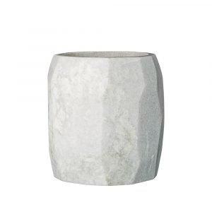 Bloomingville Marble Kukkaruukku Valkoinen