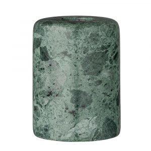 Bloomingville Marble Kynttilänjalka Vihreä 6 Cm