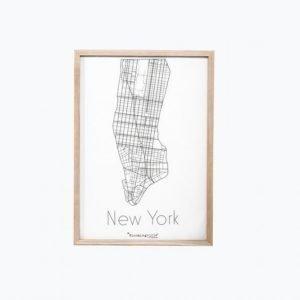 Bloomingville New York Taulu 50x70 Cm