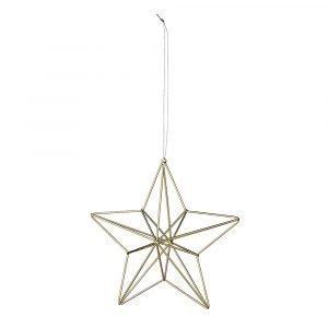 Bloomingville Ornament Tähti Kulta 13