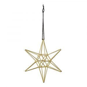 Bloomingville Ornament Tähti Kulta 15 Cm