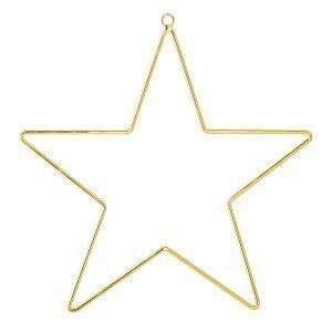 Bloomingville Ornament Tähti Kulta