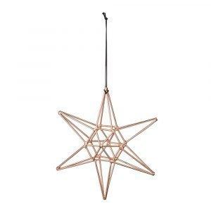 Bloomingville Ornament Tähti Kupari 15 Cm