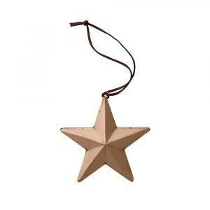 Bloomingville Ornament Tähti Kupari 19