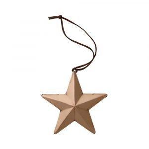 Bloomingville Ornament Tähti Kupari 6