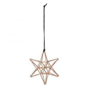 Bloomingville Ornament Tähti Kupari 8 Cm