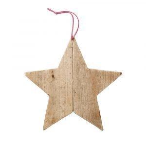 Bloomingville Ornament Tähti Puu 24 Cm