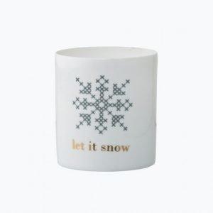 Bloomingville Snow Kynttilälyhty