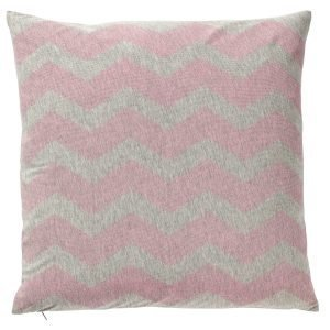 Bloomingville Waves Tyyny Harmaa / Vaaleanpunainen