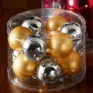Boltze Joulupallo 12-Pakkaus