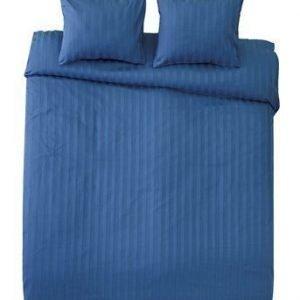Borganäs King size -pussilakanasetti Sininen