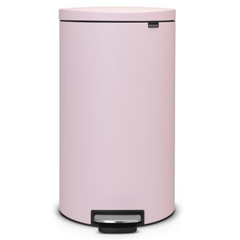 Brabantia Flatback+ Poljinroskis Silent 30 Litraa Mineral Pink Vaaleanpunainen