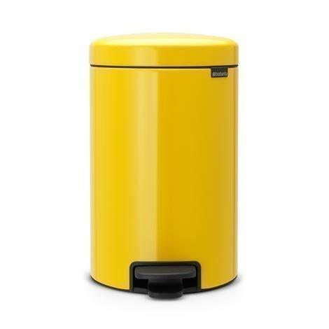 Brabantia New Icon Poljinroskis 12 Litraa Daisy Yellow Keltainen