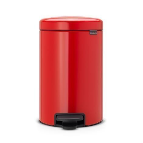 Brabantia New Icon Poljinroskis 12 Litraa Passion Red Punainen
