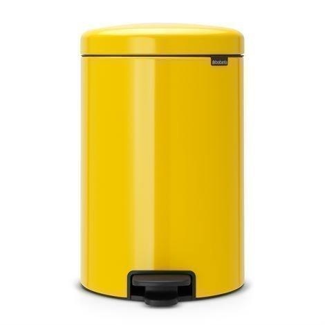 Brabantia New Icon Poljinroskis 20 Litraa Daisy Yellow Keltainen