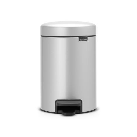 Brabantia New Icon Poljinroskis 3 Litraa Metallic Grey Harmaa