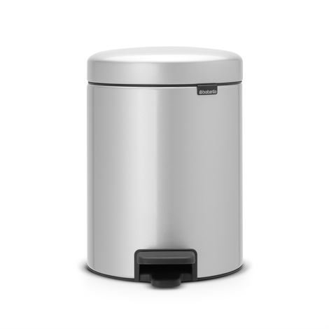 Brabantia New Icon Poljinroskis 5 Litraa Metallic Grey Harmaa