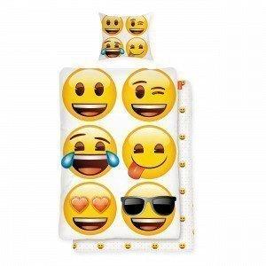 Brandnet Emoji Pussilakanasetti Multi 150x210 Cm