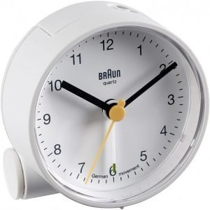 Braun Bnc001wh Herätyskello Valkoinen