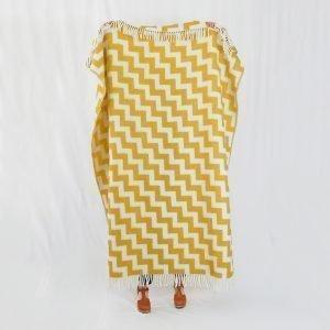 Brita Sweden Gunnel Huopa Mustard 130x180 Cm
